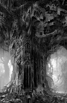 Cathedral City Tree, Daniel Dociu
