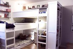Kids room with Kura Beds