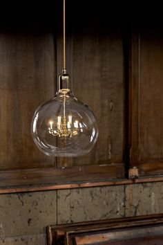 Superb Gold King Edison Grande Pendant Lamp. King Edison Grande Brings Two  Contradictory Worlds Together   Good Ideas