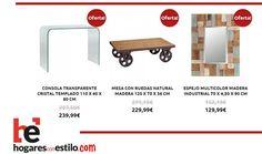 #rebajas del jueves en hogaresconestilo.com #home #hogar #estilo #deco #decoración