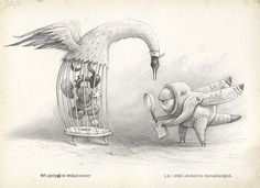 What Miscellaneous Abnormality Is That? A field guide. By Shaun Tan