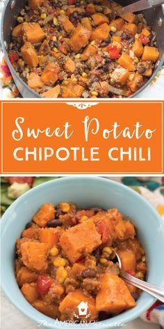 Sweet potato chipotl