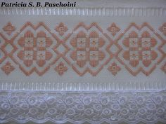 Hardanger Embroidery, Paper Embroidery, Cross Stitch Embroidery, Cross Stitch Patterns, Embroidery Designs, Bargello Patterns, Bargello Needlepoint, Crochet Doily Patterns, Doilies Crochet