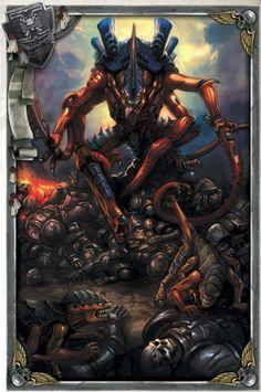Tyranid Hive Fleet Dagon Overlord - Deathwatch - Jericho Reach