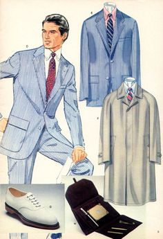 Preppy Mens Fashion, Retro Fashion, Male Fashion, Ivy Style, Suit Fabric, Preppy Style, Brooks Brothers, Seersucker, Vintage Men