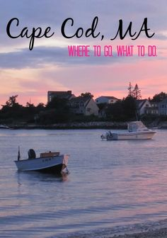 Where to go on Cape Cod - My 6 Favorite Spots from Provincetown to Hyannis and many spots in between.