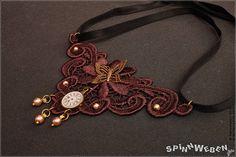 Neu Neo-Viktorianisches Spitzen-Halsband  Choker Halskette