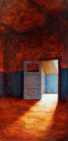 """Stewart Forrest; Acrylic, 2012, """"Curiosity 2"""""""