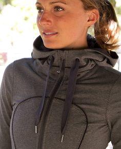 i've decided i love this style of jacket. lulu lemon hoodie