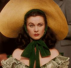 Gone With the Wind: Scarlett O'Hara - the ultimate Southern Belle who drove men crazy :) Pale Face, Scarlett O'hara, Southern Accents, Tomorrow Is Another Day, Period Movies, Vivien Leigh, Movie Lines, Struggle Is Real, Joan Crawford
