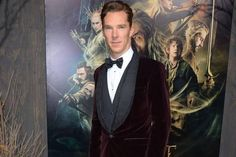 Benedict Cumberbatch at The Hobbit: Desolation of Smaug premiere