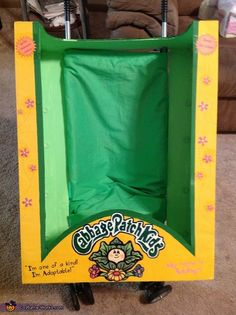 Cabbage Patch Doll costume - step by step