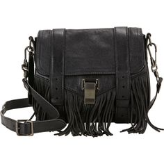 Proenza Schouler Fringed PS1 Pouch at Barneys.com