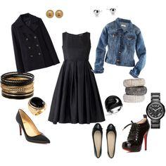 Little Black Dress + Options = endless possibilities.