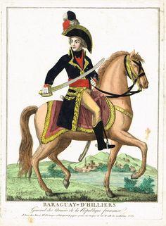 BARAGUAY-D'HILLIERS - Général des Armées de la République française - à Paris chez Basset