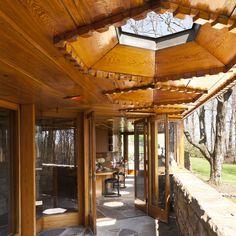 Kentuck Knob - a Frank Lloyd Wright house in Chalk Hill, PA (Laurel Highlands of Western PA)