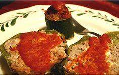 Greek Inspired Stuffed Peppers
