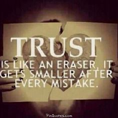 trust is a very important feeling to have for someone before being their friend