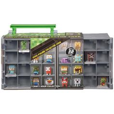 Check out the Minecraft Mini-Figure Collector Case at the official Mattel Shop website. Explore the world of Minecraft today! Minecraft Toys For Kids, Minecraft Mini Figures, All Toys, Toys R Us, Kids Store, Toy Store, Mattel Shop, Pokemon, Legrand