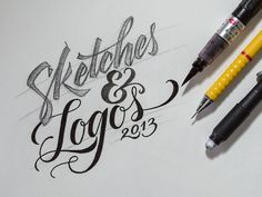 Sketches & Logos 2013 on Behance