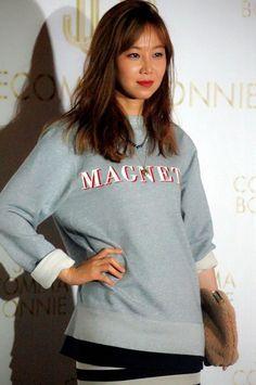 Gong Hyo Jin - 2014 Suecomma Bonnie Event in Hong Kong Lee Sun Kyun, Gong Hyo Jin, Hong Kong, Korea, Hairstyle, Beauty, Fashion, Hair Job, Moda
