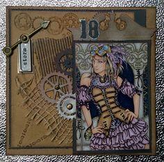 Steampunk gemaakt door Juanita