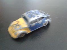 Lesney Diecast Toy Car, Volkswagen Beetle, Lesney No 25 - http://www.matchbox-lesney.com/38255