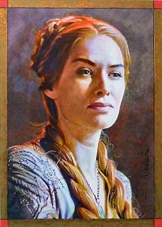 Cersei by DavidDeb on DeviantArt