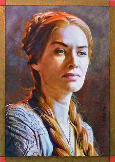 Cersei by DavidDeb.deviantart.com on @deviantART