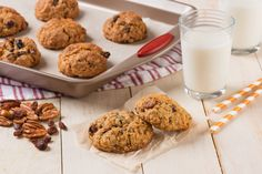 These oatmeal raisin cookies have a little something special. Crunchy pecans! A favorite holiday recipe for the years!