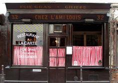 L'ami Louis 32 Rue du Vertbois, 3rd Arrondissement, Paris   +33.0.1.48.87.77.48   10 Incredibly Memorable Meals   Goop