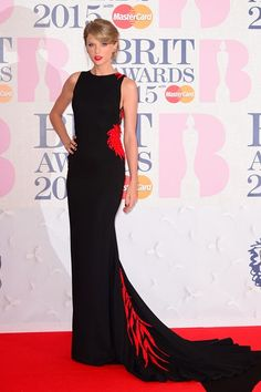 Taylor Swift in a Roberto Cavalli Atelier gown