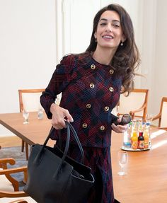Amal Clooney Just Gave Us Some Work Wardrobe Goals For Fall