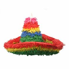 Spice up your fiesta or Cinco de Mayo celebration with an authentic Mexican pinata. The sombrero pinata is the perfect addition to all fiesta and Cinco de Mayo parties. The sombrero pinata is tall and long. Mexican Fiesta Decorations, Mexican Fiesta Party, Pinata Party, Party Garland, Mom Birthday, Birthday Party Themes, Mexican Pinata, Fiesta Party Favors, Stag And Doe