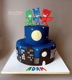 Torte di Clara: PJ Masks cake (2)