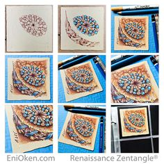 Learn how to create amazing Zentangle®️️ and Zendoodles • enioken.com