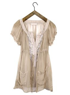 Romantic top - love and liberty from Johnny was http://www.johnnywas.com/shop/womens/4_love_and_liberty/riley_tunic/ecru/?page=&searchtext=&designers_id=0&colourgroups_id=&Size=&price_id=