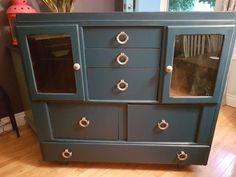 Door Furniture, Furniture Refinishing, Buffet, Doors, Storage, Red, Home Decor, Purse Storage, Decoration Home
