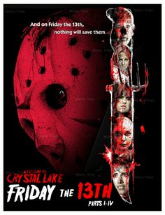 Friday The 13th Pt 1-4 Re Edit Poster