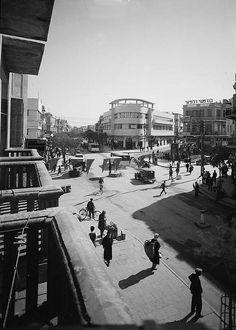"Tel Aviv (""The White City"") Bauhaus Architecure - Magen David Square."