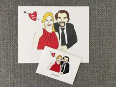 Jessica & Okan print and cards