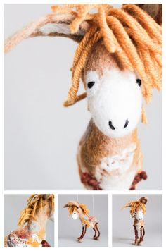 Hey, I found this really awesome Etsy listing at https://www.etsy.com/listing/230288901/bartholomew-felt-donkey-art-toy-felted