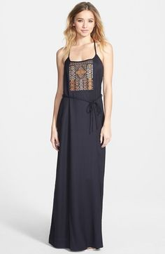 Element 'Village' Maxi Dress available at #Nordstrom