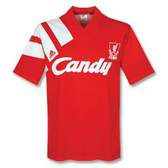 91-92 Liverpool Home Shirt - Grade 8