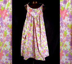 Vintage 60s Tent Sundress Dress Sears by LilBlackDressVintage, $35.00