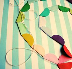 easy banner for kid's party or classroom