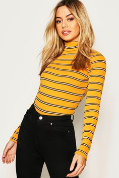 boohoo PETITE Serving up the same statement styles in scaled down sizes boohoo Petite is your port of call for perfectly proportioned pieces designed to fit women of 5 3 1 and under Outfits Otoño, Outfits For Teens, Fall Outfits, Casual Outfits, Fashion Outfits, Yellow Outfits, Fashion Tips, Fashion Trends, Turtleneck Outfit