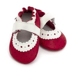 Baby Sandals, Baby Shoes, Barefoot, Leather Sandals, Red Roses, Soft Leather, Ankle Strap, Pink, Flats