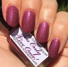 You Only Live Once - a Cosmoprof 2015 exclusive. Swatch by Ehmkay Nails