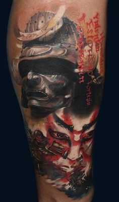 Tattoo. Samurai warrior. Badass!
